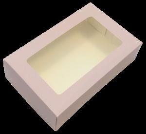 Kartoninė dėžutė desertui, sausainiams, macarons